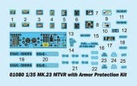 Trumpeter 1/35 MK.23 MTVR with Armor Protection Kit # 01080